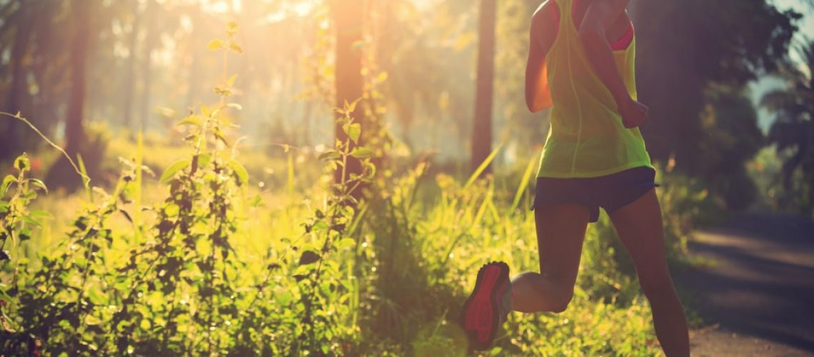 how to improve your 5k - woman running